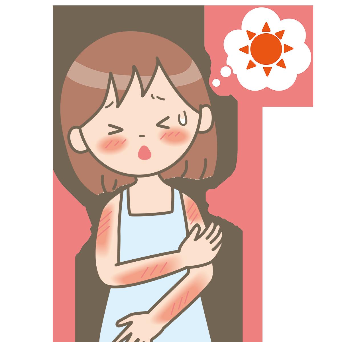 日焼けしたお肌のお手入れ方法